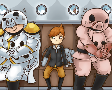 Mother 3 - Transit with Commander by Aviarei