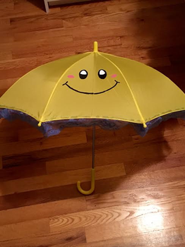 Perry the Parasol (Princess Peach Cosplay Prop) by Miss-Peachie-64