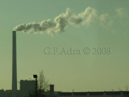 air pollution by Gin-ny
