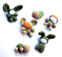 Amigurumi various by periwinkleimp