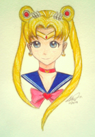 Day 118: Sailor Moon by Kitty-xx