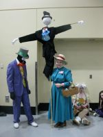 Sakura-con 2012: Howl's Moving Castle Cosplayers by Echo-desu