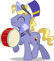 Ponet The Drum Unicorn by ChainChomp2