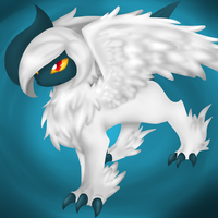 not so mega Absol by tioma-the-eevee-girl