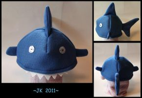 Boy-Eating Shark Hat by VampirateMace