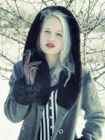 gothic girl-winter version4 by possion
