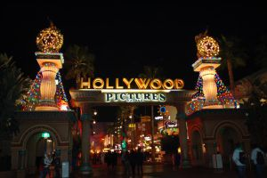 Hollywood Backlot at Night by Anime-Ray