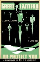 Green Lantern Corps by curtistiegs