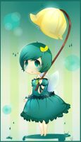 little blue fairy chibi :) by vinylah