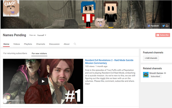 Names_Pending YouTube Channel! by Firestar6