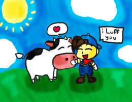 Harvest Moon by CartoonFreak101