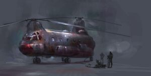 helicopter SA by eWKn