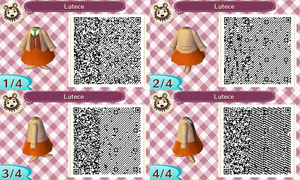 Animal Crossing QR Code Rosalind Lutece by TeaganLouise