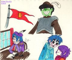 The Prince, the Pauper, and Murdoc by Strabius
