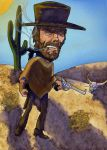 Clint Eastwood-Humorous by SherryCampana