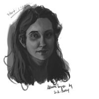 1 Hour speedpaint by AllisonTyree