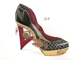 TRibal High Heels 2 Creare 09 by HANNA-PRETTY