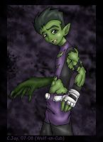 Beast Boy by Wolf-an-Cub