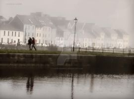 galway in the fog by CarolineEwok