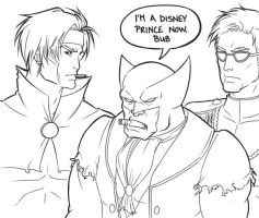 Disney Marvel Doodles by AnimantX