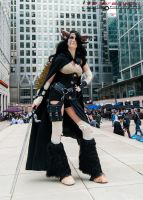 Steampunk Satyr - Canary Wharf 3 by TPJerematic