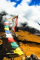 nepal prayer flags by MugdimanDhaulagiri