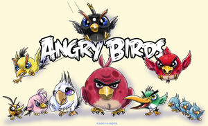 -ANGRY BIRDS- by Kanis-Major