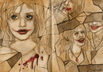 Harley Quinn Sketches by SnowFright