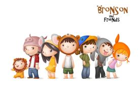 Bronson and Friends by baldandhairy