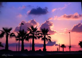 Mediterannean sunset 4 by ShlomitMessica