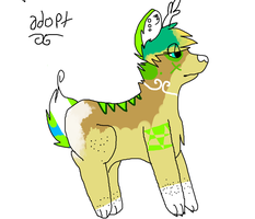 FoxDeer Adopt thing- Name your Price.~ by heIIcats