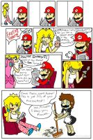 never prank Princess Peach... by DaisyDrawer