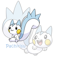Pachirisu by TheIronForce