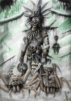 Witch doctor d3 by HrvojeSilic