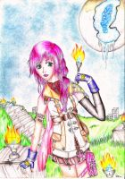 .:FFXIII Lightning:. by Twigileia