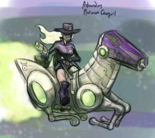 010 - Platinum Cowgirl by DBed