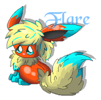Flare pixel doll by snowflake95