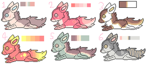 Adoptables Batch .:ANSWER:. by Anni-Adoptables