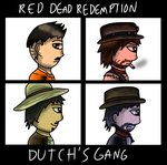 dutch's gang by BuckySoldier