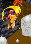 Flaming Kick Colored by Anubis2Pabon288