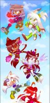 CE: Sky Fight by Melky9714
