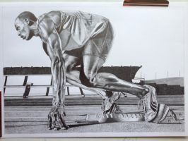 Usain Bolt by Mike6otto