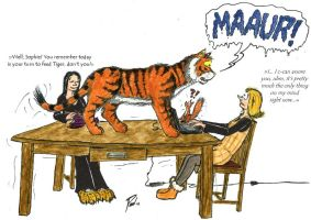 Master the Tiger: A Little Reminder by PaulEberhardt