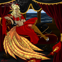 Anna: Furcadia character commission by FurcArt