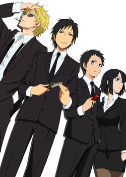 Durarara  Gangsters by Narusailor