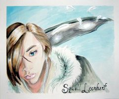 Squall Leonhart by trickypink