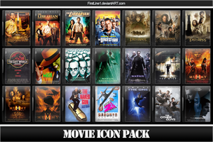 Movie Icon Pack 14 by FirstLine1