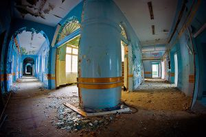 Abandoned surgical hospital by mjagiellicz