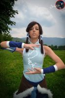 Waterbending- Korra by Neigeamer