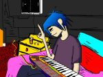 2-D's New Keyboard by FoxTail8000